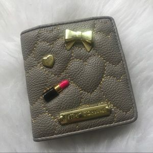 AUTHENTIC Betsey Johnson wallet!! Barely used!! 💕